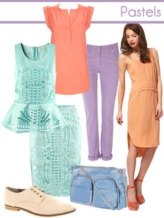 The Fashion Enthusiast - Pastels