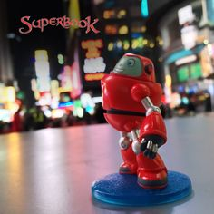 Gizmo went on an adventure to Times Square with the #Superbook team! We want to know where your kids take their Superbook toys. If you haven't collected your #Superbook8 yet, what are you waiting for? http://go.superbk.co/toys (US Only)  #TimesSquare #Toy #Faith #Gizmo #Collectible Toy Sale, Times Square, Waiting, Join