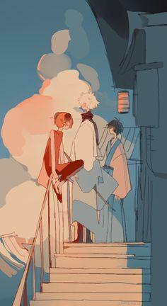 epitome of cursed content Aesthetic Art, Aesthetic Anime, Manga Art, Anime Art, Art Sketches, Art Drawings, Gintama Wallpaper, Character Art, Character Design