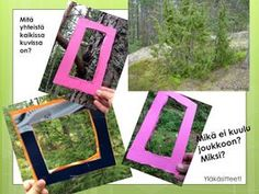 OpenIdeat: Metsä-teema, osa 1 Mika, Environmental Science, Nature Crafts, Forest Animals, Science And Nature, Frame, Home Decor, Tieto, Art