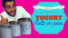 ricetta semplice per creare uno yogurt semplice in casa, senza yogurtiera e con solo 2 ingredienti.