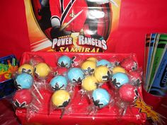 Power Rangers Birthday Party Ideas   Photo 3 of 11   Catch My Party