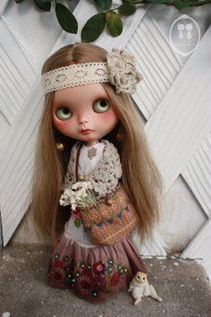 PRECOMMANDE spécial fait main Blythe Dress Set par LittleDollsRoom