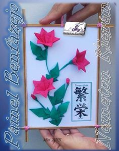 Origami, Playing Cards, Crafts, Manualidades, Playing Card Games, Origami Paper, Handmade Crafts, Craft, Arts And Crafts