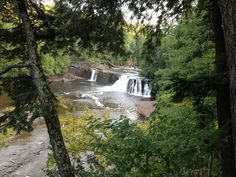 Presque Isle River Waterfalls Loop is a 2.3 mile loop trail located near Wakefield Twp, MI and is rated as moderate. The trail is primarily used for hiking and is accessible from May until October.