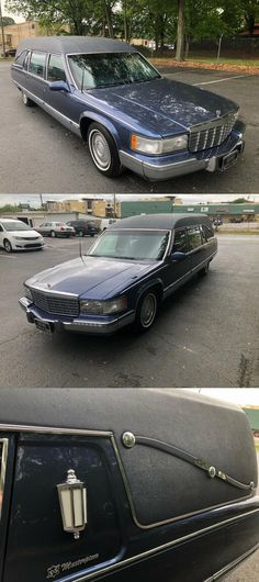 1996 Cadillac Masterpiece Commercial Chassis Hearse [very good condition] Lights And Sirens, Cadillac, Commercial, Conditioner, The Unit