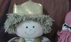 Boneco de pano príncipe Jean Boy cloth doll prince