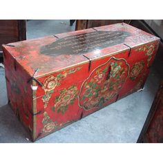 antique tibetan boxes and trunks - Google Search