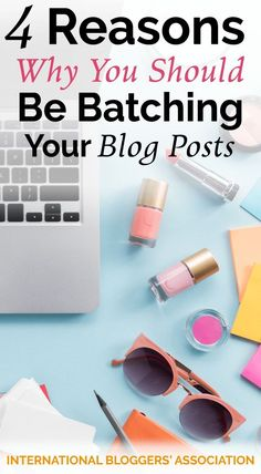 Even if you've done the research into how to start batching your blog posts already, you may still be resisting. These four reasons will change your mind!