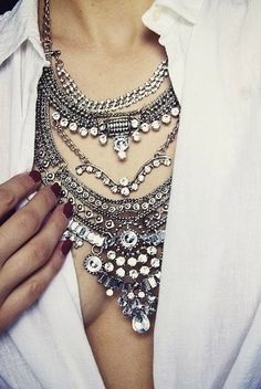 Glamorous Over The Top Statement #Necklace 24,90  #happinessbtq