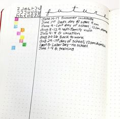 Bullet Journal Future Planning has never been easier! Check out four methods to make future planning a breeze: Alastair, Calendex, Future Log & Monthly Log.