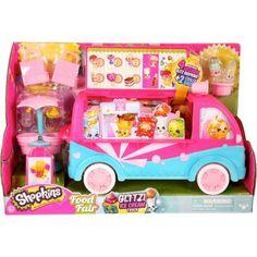 Moose Toys Shopkins Season 3 Scoops Ice Cream Truck Playset, Glitter - Walmart.com