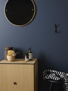 Laundry In Bathroom, Small Bathroom, Bathroom Ideas, Jotun Lady, Ikea Living Room, Deco Blue, Paint Colors, Sweet Home, Aqua