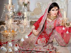 Bridal Spring Dresses 2015 by Ramsha's  (4)