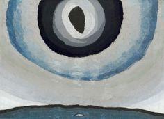 Arthur Dove / Silver Sun / 1929 / Oil, metallic paint, and wax (?) on canvas