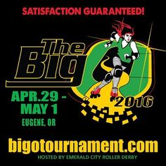 We have TWO weekend passes for the Big O to raffle at our 3/26 bout - $120 retail value! Check out BigOTournament.com for more details about this incredible 3-day roller derby event! #stillBAD #BigO2016 by bayareaderby