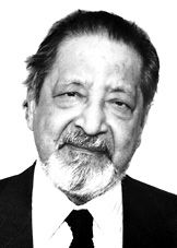 """Sir Vidiadhar Surajprasad Naipaul  (V. S Naipaul)---------- The Nobel Prize in Literature 2001 was awarded """"for having united perceptive narrative and incorruptible scrutiny in works ..."""