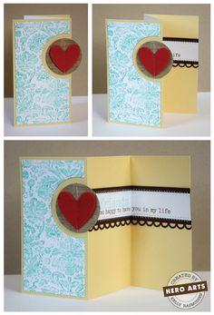 Hero Arts Cardmaking Idea: Friends
