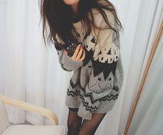 Big sweaters any kind really