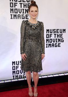 Julianne Moore was honored at the Museum of the Moving Image