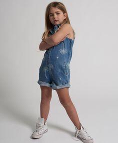 Denim Romper, Rompers, Summer Dresses, Kids, Fashion, Summer Sundresses, Moda, Children, Sundresses
