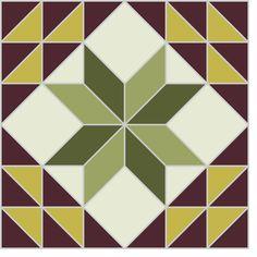 star+quilt+block   Quilt Plan Examples for the Diamond Star Variation Block