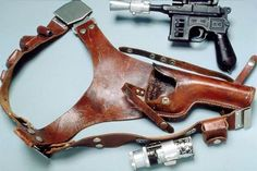 The #Influence of Han Solo ~  An interesting look at what we know as the #Blaster
