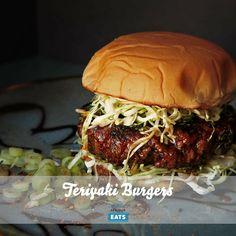 A juicy burger glazed in sweet and savory teriyaki sauce.