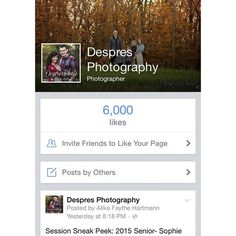 Hip hip hooray!! It's time to celebrate 6k+ fans on our Facebook page. ❤️ YAY!!!   Thank you to those of you who have supported us over the years and for those of you who are new fans!!  We're soooo thankful for all of you! Thank you! Thank you! Thank you! @despresphoto #photography #photographer #minnesotaphotographer #thankyou (at Despres Home / Photography Office)