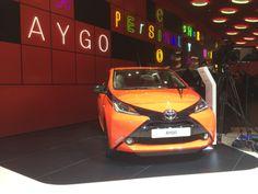 Den nye Toyota Aygo. Den bliver rigtig, rigtig vigtig for Toyota i Danmark de næste år. Bilen ser spændende ud!