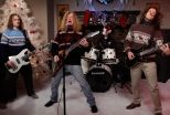 Megadeth and Jenny Lewis Sing Holiday Classics for 'Kimmel' - http://afarcryfromsunset.com/megadeth-and-jenny-lewis-sing-holiday-classics-for-kimmel/