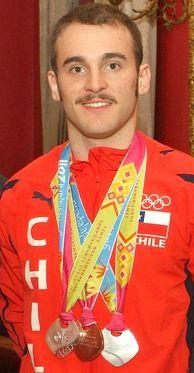 El gran THOMAS GONZÁLEZ campeón chileno y sudamericano