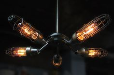 LIGHTING - Deschênes, Sculptor ━ Lighting & custom objects  Industrial style interiors / Décoration style industriel