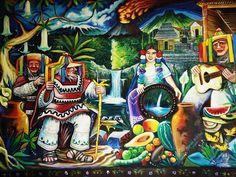 Mural in Uruapan, Michoacan National Park Entrance