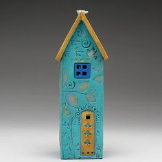 Ceramic HouseHome Decor Nature Inspired hand made by DavisVachon