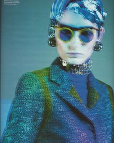 Issue : W September 2012  Title : Power Play  Photography : Paolo Roversi Styling : Giovanna Battaglia  Models : Marie Piovesan, Ophelie Rupp & Marie Piovesan