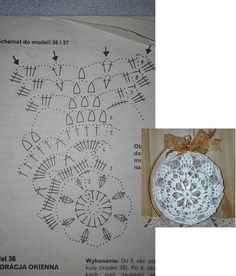 "Best 11 Képtalálat a következőre: ""schematy bombek by siwa Crochet Christmas Decorations, Crochet Decoration, Crochet Christmas Ornaments, Christmas Crochet Patterns, Crochet Snowflakes, Christmas Baubles, Christmas Crafts, Crochet Motifs, Crochet Chart"
