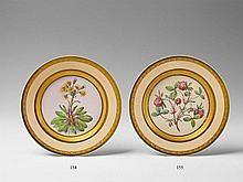 A Berlin KPM botanical porcelain plate