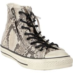 df0062367881 Converse for John V Faux-Snakeskin Chuck Taylor Zip High - Polyvore Yours  Truly