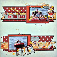 On the Lake - Scrapbook.com