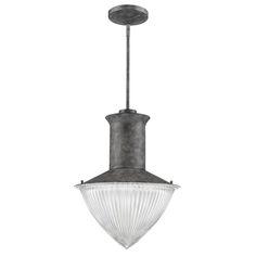 Skylar 1-light pendant in ash