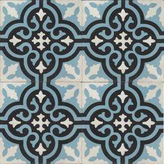 Moroccan Encaustic Cement Pattern Pre Sealed 03e | £ 2.42 | Best Tile UK | Moroccan Tiles | Cement Tiles | Encaustic Tiles | Metro Subway Tiles | Terracotta Tiles | Victorian Tiles