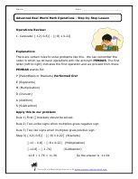 Problem solving in the workplace worksheets