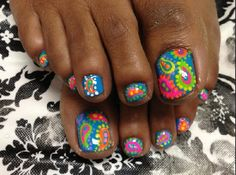 Best Summer Nails Part 1 Toenail Art Designs, Pedicure Designs, Manicure E Pedicure, Toe Designs, Pedicure Ideas, Pretty Toe Nails, Love Nails, Summer Toe Nails, Feet Nails