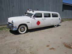 1951 Ford DeLuxe Siebert ambulance for sale on Hemmings right now. How much? 24,900 buckaroos.