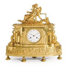 A Directoire ormolu mantel clock<br><p>circa 1800, the dial signed <em>Moinet Ainé A Paris</em></p> | Lot | Sotheby's