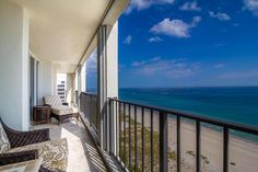 Interested in waking up to this view everyday? Don't miss out on this JUST LISTED Boca Raton oceanfront condo. This property won't last long!
