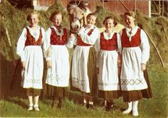 Bilderesultat for rondastakk forkle Folk Costume, Costumes, Going Out Of Business, Traditional Outfits, Alter, Vintage Photos, Norway, Bridal Dresses, Apron