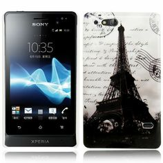 Hard Case fürs Sony Ericsson Xperia go / Xperia advance / ST27i Eifelturm