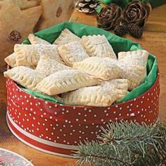Walnut Filled Pillows Melt in your mouth cookie, with sweet walnut filling.
